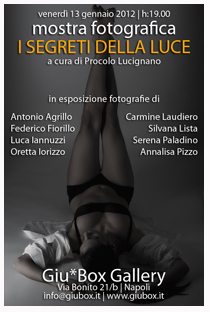 clicca per il 4° Corso di Ritratto Fotografico con Procolo Lucignano