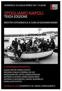 clicca per la mostra fotografica Spogliamo Napoli -Terza Edizione
