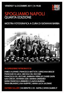 clicca per la mostra fotografica Spogliamo Napoli -Quarta Edizione